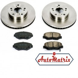 Honda S-MX Brake Discs + Pads Kit (Solid Vented)