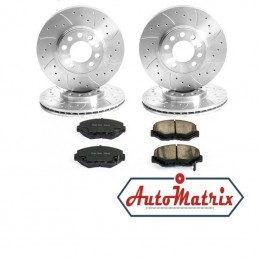 Honda S-MX Brake Discs + Pads Kit (Upgraded...